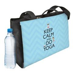 Keep Calm & Do Yoga Ladies Workout Bag
