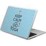 Keep Calm & Do Yoga Laptop Skin - Custom Sized