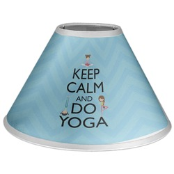 Keep Calm & Do Yoga Coolie Lamp Shade