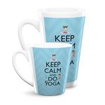 Keep Calm & Do Yoga Latte Mug