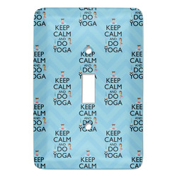 Keep Calm & Do Yoga Light Switch Cover (Single Toggle)