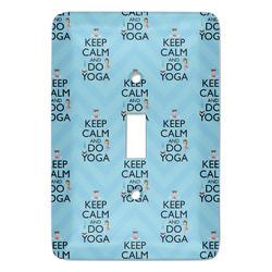 Keep Calm & Do Yoga Light Switch Covers