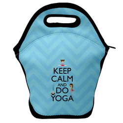 Keep Calm & Do Yoga Lunch Bag