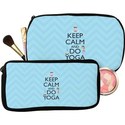 Keep Calm & Do Yoga Makeup / Cosmetic Bag