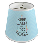 Keep Calm & Do Yoga Empire Lamp Shade