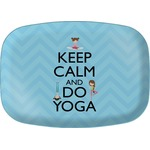 Keep Calm & Do Yoga Melamine Platter