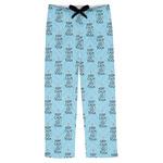 Keep Calm & Do Yoga Mens Pajama Pants