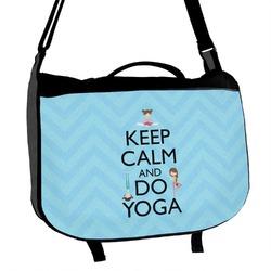 Keep Calm & Do Yoga Messenger Bag