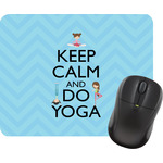 Keep Calm & Do Yoga Mouse Pads