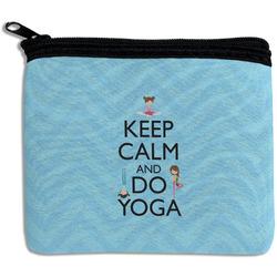 Keep Calm & Do Yoga Rectangular Coin Purse