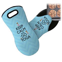Keep Calm & Do Yoga Neoprene Oven Mitt
