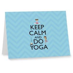 Keep Calm & Do Yoga Note cards