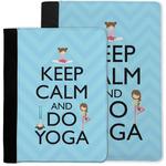 Keep Calm & Do Yoga Notebook Padfolio