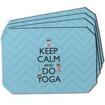 Keep Calm & Do Yoga Dining Table Mat - Octagon