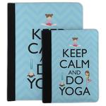 Keep Calm & Do Yoga Padfolio Clipboard