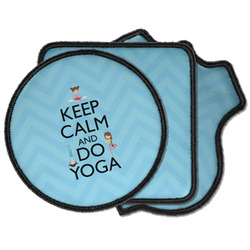 Keep Calm & Do Yoga Iron on Patches