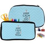 Keep Calm & Do Yoga Neoprene Pencil Case