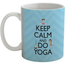 Keep Calm & Do Yoga Coffee Mug