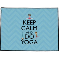 Keep Calm & Do Yoga Door Mat