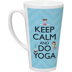 Keep Calm & Do Yoga Latte Mug