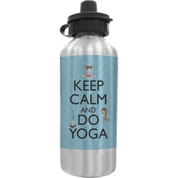 Keep Calm & Do Yoga Water Bottle