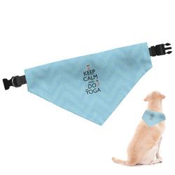 Keep Calm & Do Yoga Dog Bandana