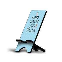 Keep Calm & Do Yoga Phone Stand