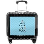 Keep Calm & Do Yoga Pilot / Flight Suitcase