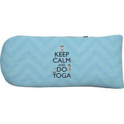 Keep Calm & Do Yoga Putter Cover