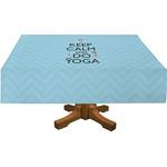 Keep Calm & Do Yoga Tablecloth