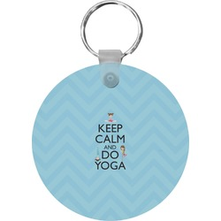 Keep Calm & Do Yoga Keychains - FRP