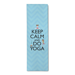 Keep Calm & Do Yoga Runner Rug - 3.66'x8'