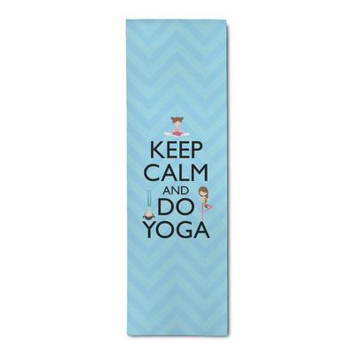 Keep Calm & Do Yoga Runner Rug - 3.66'x8'