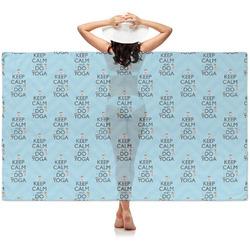 Keep Calm & Do Yoga Sheer Sarong