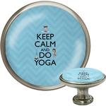 Keep Calm & Do Yoga Cabinet Knobs