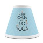 Keep Calm & Do Yoga Chandelier Lamp Shade