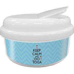 Keep Calm & Do Yoga Snack Container