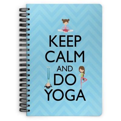 Keep Calm & Do Yoga Spiral Notebook