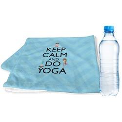 Keep Calm & Do Yoga Sports Towel