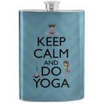 Keep Calm & Do Yoga Stainless Steel Flask