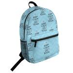 Keep Calm & Do Yoga Student Backpack