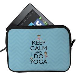 Keep Calm & Do Yoga Tablet Case / Sleeve