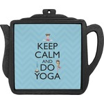 Keep Calm & Do Yoga Teapot Trivet
