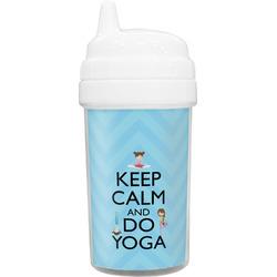 Keep Calm & Do Yoga Toddler Sippy Cup