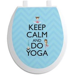 Keep Calm & Do Yoga Toilet Seat Decal