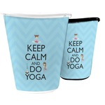 Keep Calm & Do Yoga Waste Basket
