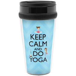 Keep Calm & Do Yoga Travel Mug