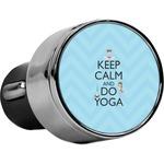 Keep Calm & Do Yoga USB Car Charger