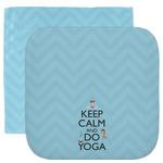 Keep Calm & Do Yoga Facecloth / Wash Cloth