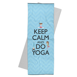 Keep Calm & Do Yoga Yoga Mat Towel